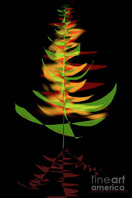 Digital Art - The Burning Bush by James Fannin