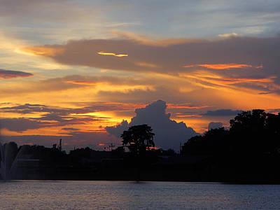 Photograph - The Burning Sky by Becky Erickson