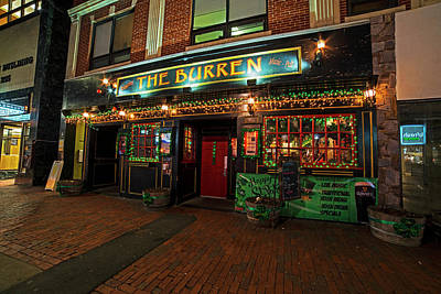 Photograph - The Burren Decked Out For Saint Patrick's Day Somerville Ma Front by Toby McGuire