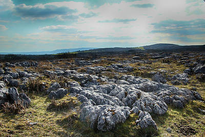 Photograph - The Burren, Ireland by Marie Leslie