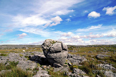 Burren Painting - The Burren, Republic Of Ireland by Craig McCausland