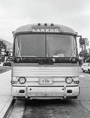 The Bus To Laredo Art Print