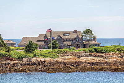 The Bush Family Compound On Walkers Point Art Print by Brian MacLean