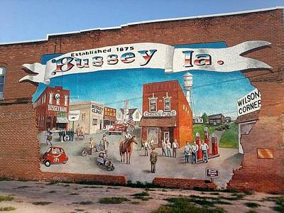 July 4th Painting - The Bussy Mural by Todd Spaur