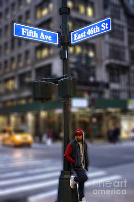 Photograph - The Busy Streets by Parker O'Donnell