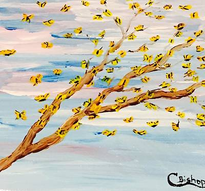 The Butterfly Tree Art Print