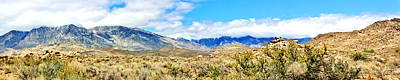 Photograph - The Buttermilks Pano by Marilyn Diaz