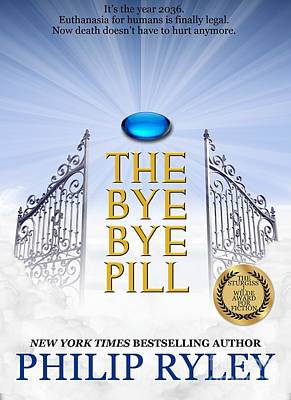 Book Jacket Design Photograph - The Bye Bye Pill Book Cover by Mike Nellums