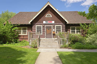The Cabin Center For Readers And Writers Boise Idaho. Original by Gino Rigucci