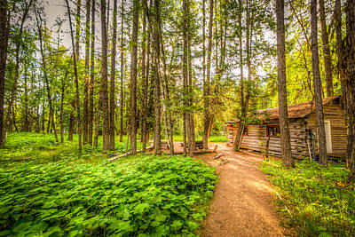 Photograph - The Cabin In Montana by Spencer McDonald