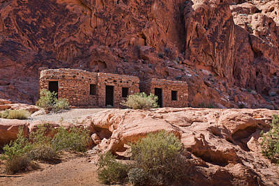 Photograph - The Cabins - Valley Of Fire Nevada State Park by Tatiana Travelways