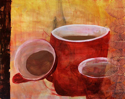 Painting - The Cafe by Ellen Beauregard
