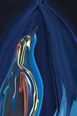 Digital Art - The Caged Bird Sings by Rabi Khan