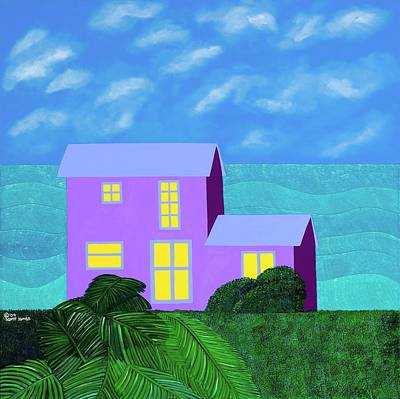 Painting - The Caicos by Synthia SAINT JAMES