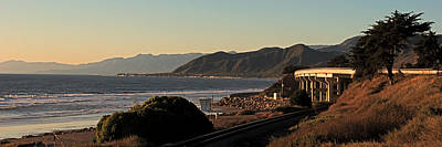 Photograph - The California Coast by Ron Dubin