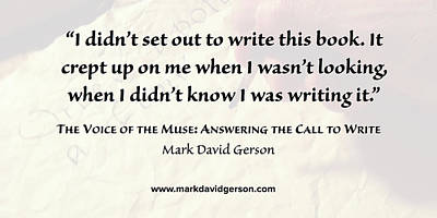 Digital Art - The Call To Write by Mark David Gerson