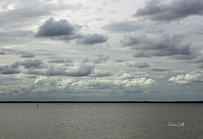 Lake Waccamaw Photograph - The Calm Before The Storm by Suzanne Gaff