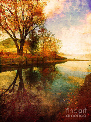 Photograph - The Calm By The Creek by Tara Turner