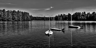 Hdr Photograph - The Calm Of White Lake by David Patterson