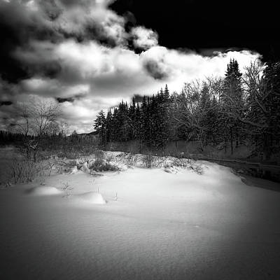 Art Print featuring the photograph The Calm Of Winter by David Patterson