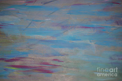 Photograph - The Calm Acrylic Painting by Roberta Byram
