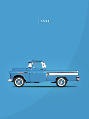 Cameo Photograph - The Cameo Pickup by Mark Rogan
