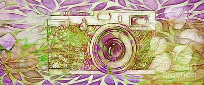 Digital Art - The Camera - 02c6t by Variance Collections