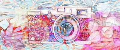 The Camera - 02c8v2 Art Print by Variance Collections