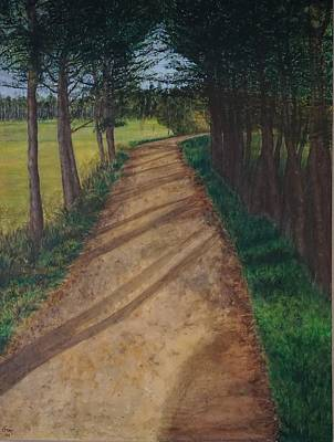 Pilgrimmage Painting - The Camino by Gia McNutt