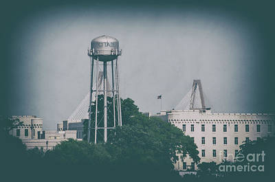 Photograph - The Campus Of The Citadel Military College In Charleston Sc by Dale Powell