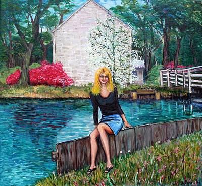 The Canal Art Print by Yelena Rubin