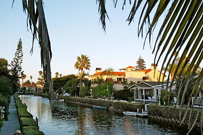 Photograph - The Canals Of Venice - California by Michele Myers
