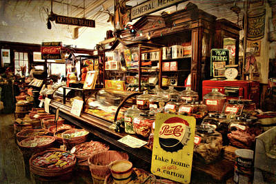 Photograph - The Candy Counter by Lana Trussell