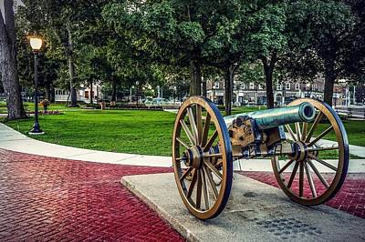Photograph - The Cannon In The Park by Kendall McKernon