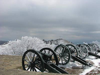 The Cannons At Shipka Art Print