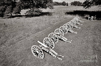 The Cannons Of Valley Forge Print by Olivier Le Queinec