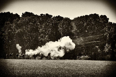 Civil War Cannon Balls Photograph - The Cannons' Thunder by Scott Wyatt