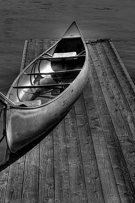 The Canoe Art Print by David Patterson