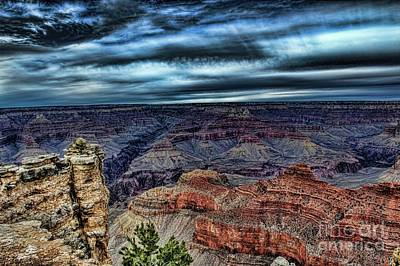 Photograph - The Canyon by Diana Mary Sharpton