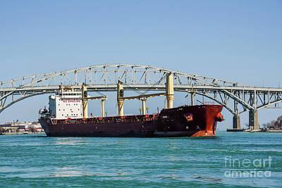 Photograph - The Cape At Blue Water Bridges by Grace Grogan