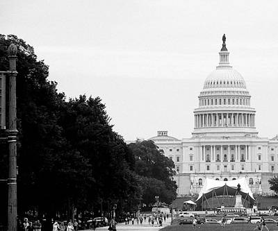 Art Print featuring the photograph The Capital Building by Laura DAddona