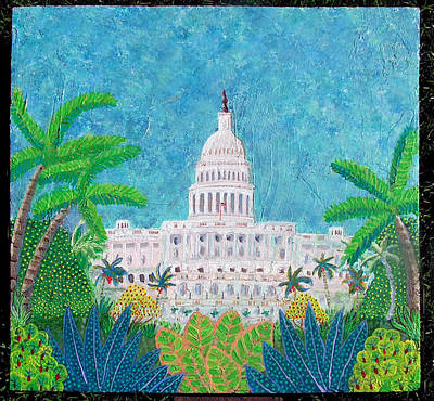 Climate Change Painting - The Capitol After Climate Change by Charles Somerville