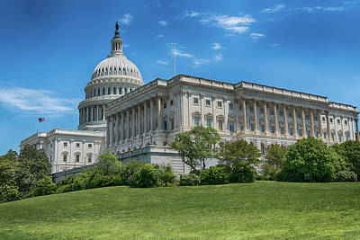 Photograph - The Capitol by Brian Oakley Photography