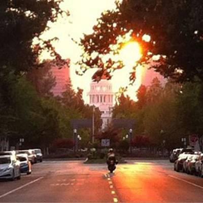 California Wall Art - Photograph - The Capitol In #sacramento #california by Jennifer Beaudet