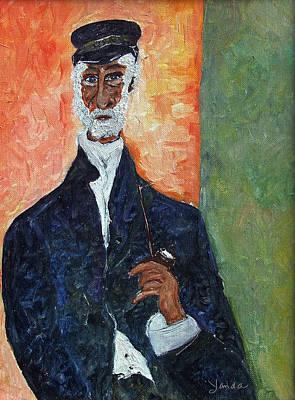Painting - The Captain by Katt Yanda