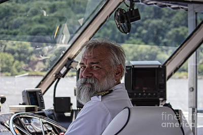 Photograph - The Captain by Roberta Byram