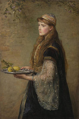 Painting - The Captive by John Everett Millais