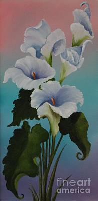 The Calla Lilies Are In Bloom Again Original by Louise Williams