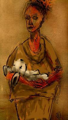 Painting - The Care Giver by Jim Vance