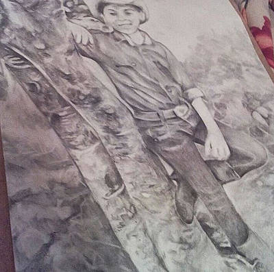Tomboy Drawing - The Carefree Tomboy by Rachel Eden